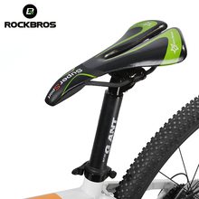 New RockBros Bicycle Saddle CR-MO Rail Hollow Synthetic Leather Men's Outdoor Road MTB Bike Bicycle Cycling Saddle Seat, 2Color