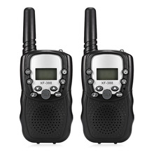 2pcs Children Electronic Toy LCD Backlit Display Walkie Talkies 2-Way Radio Long Range 3KM Range 22 Channels