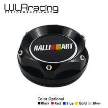WLRING STORE- NEW RACING OIL FILTER CAP For MITSUBISHI RALLIART BILLET ENGINE OIL CAP GOLD/BLACK/SILVER/RED/BLUE WLR6315(China)
