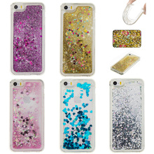 Glitter Stars Quicksand Phone Case For iPhone 7 6 6s 5 5s SE 6Plus 6s 7 Plus iPod Touch5 Touch6 Cover Soft TPU Colorful Casing