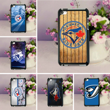 MaiYaCa Toronto Blue Jays Baseball Black Design Hard PC Case for ipod Touch 4 5 6