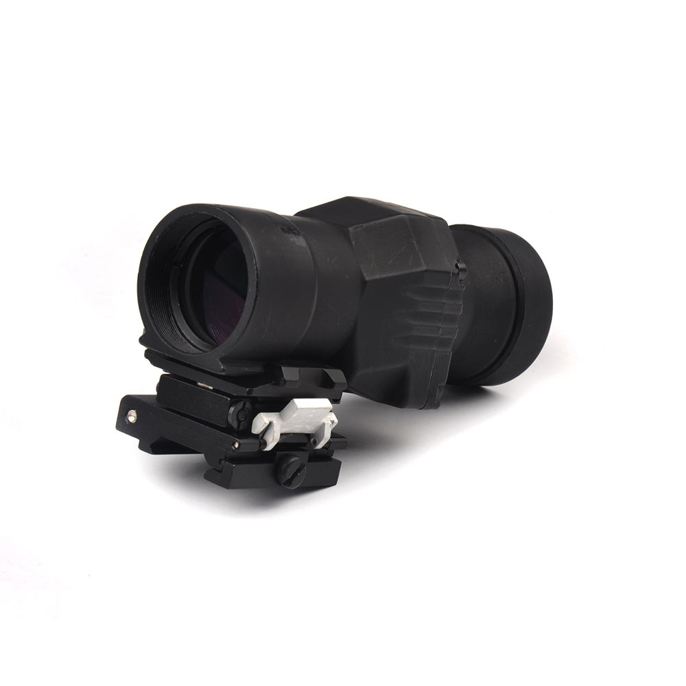 Tactical Hunting Telescope  Magnifier Rifle Scope Sight With Flip To Side Mounts Fits For Hunting Gun Scopes<br>