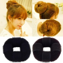 hair band bun maker sponge super stick creative for Women Hair Accessories headwear holder bun bang DIY(China)