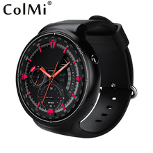 Colmi I1 Smart Watch Android 5.1 OS 2GB + 16GB WIFI 3G GPS Heart Rate Monitor Bluetooth MTK6580 Quad Core SmartWatch