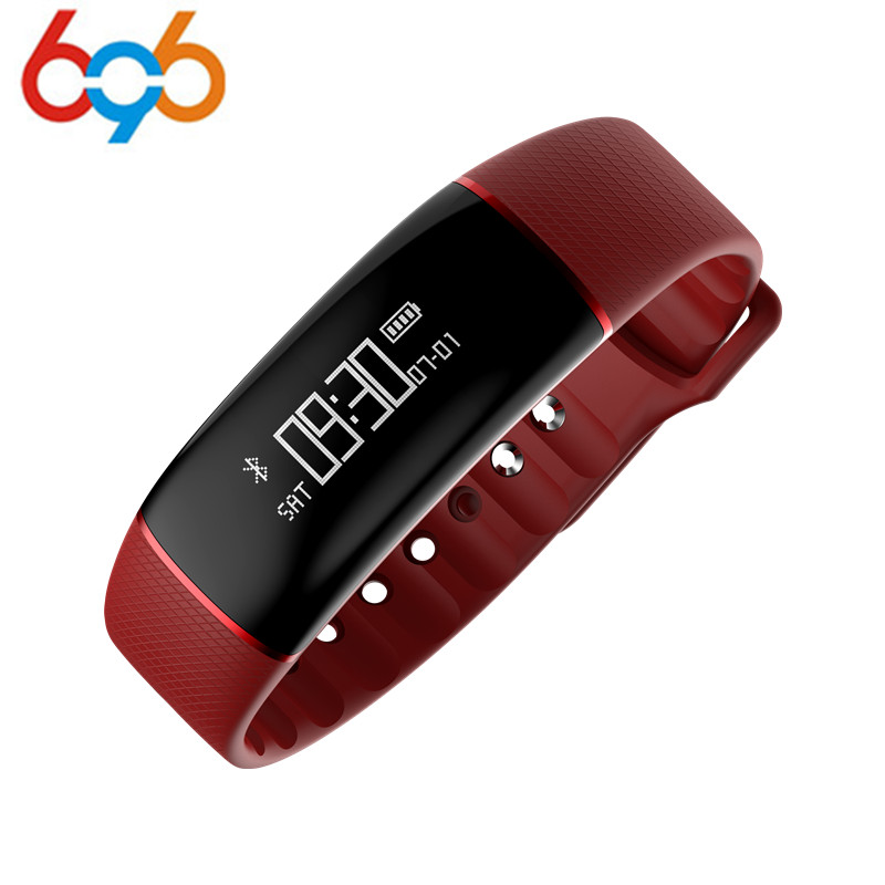 696 Microwear A69 Smart Bracelet Pedometer Heart Rate Watches Blood Pressure Fitness Tracker Smartband PK mi band 2