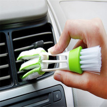 Car Diy New Plastic Car Air Conditioning Vent Blinds Cleaning Brush For Series Part Accessories dropshipping(China)