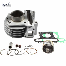 Buy 39mm Big Bore Motorcycle Cylinder Kit Piston Rings GY6 50cc Scooter Moped TAOTAO ATV 139QMB 139QMA Jonway Baotian for $34.98 in AliExpress store