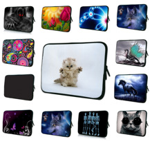 "10.1"" Tablet Netbook Inner Cases For iPad Air 9.7 Inch Mini PC Laptop Neoprene Protective Pouch Cover Bag For Samsung Dell ASUS"