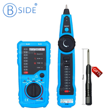 Bside FWT11 Handheld Wire Tracker RJ45 RJ11 Network Telephone Cable Tester Continuity Check(China)