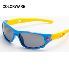 Buy 2017 Kids Polarized Sunglasses Children Classic TR90 Safety Coating Sun Glasses Baby Oculos de Sol UV400 Protection for $7.11 in AliExpress store