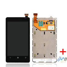 For Nokia Lumia 800 LCD Screen Display with Touch Screen Digitizer Assembly + Frame + Tools Free Shipping.100% Tested New