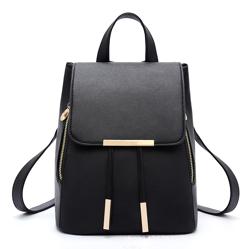 YUFANG Fashion Women Backpacks PU Leather School Rucksack For Teenage Girls Female Travel Shoulder Bag Bolsa Mochila Feminina<br><br>Aliexpress
