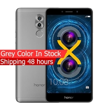 Global Version Huawei Honor 6X 4GB 64GB ROM Mobile Phone 4G LTE Octa Core 5.5 inch 1920x1080P Dual Rear Camera Fringerprint