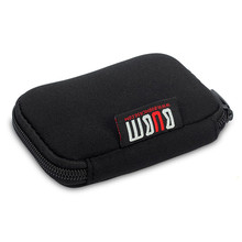 USB Flash Drives Organizer Case Storage Bag Protection Holder BUBM Brand Travel Outdoor Portable Storage Bags Handy Pack Noir(China)