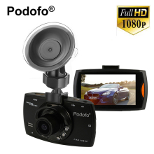Podofo G30 Car Camera + 32G Card Night Vision Full 1080P HD 140 Digital Car DVR Camcorder Recorder G-sensor CMOS Sensor  2.7""