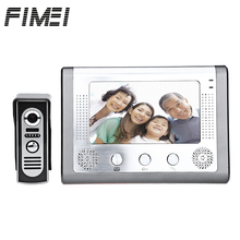 Fimei SY801M11 7 Inches TFT Screen Hands Free Video Interphone Doorbell Intercom