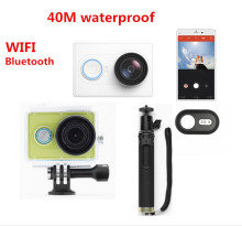 Original xiaomi yi action camera travel 1080P 60fps 16MP wifi bluetooth 4.0 smart waterproof sport camera
