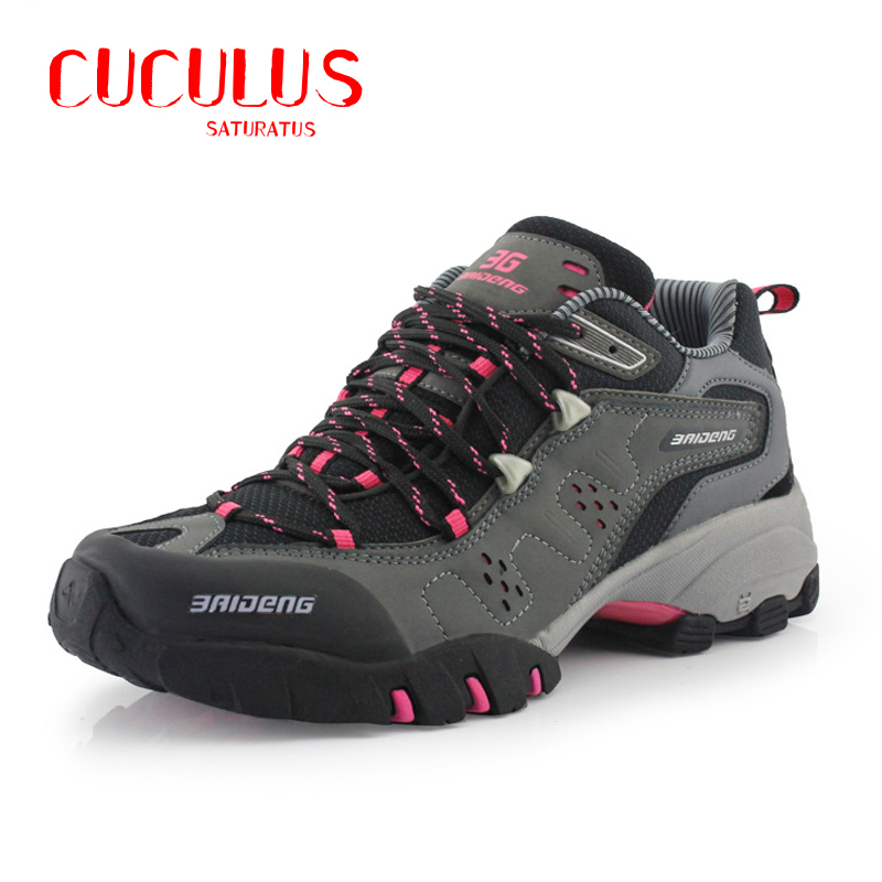 Surface Waterproof Climbing Mountain Boots  Women Hiking Shoes Breathable Shoes Brand 3Colors 8061<br><br>Aliexpress