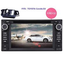 Android5.1.1 for TOYOTA Corolla Car Radio Double Din Stereo GPS Sat Nav Auto Audio Car DVD Player Headunit Wifi/RDS/SD/USB/OBD2