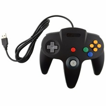 SOROPIN Classic USB Wired Gamepad Joystick For Laptop PC Long Handle Gamepad Gaming Controller For Nintendo N64 System Gamecube