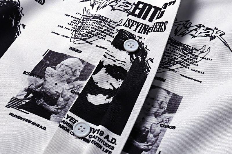 Joker Angel Print Shirts 4