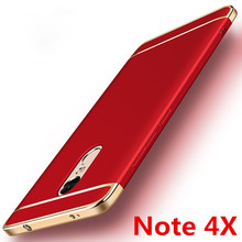 Luxury 3-IN-1 case Xiaomi RedMi Note 4 Global version Xiaomi Redmi Note 4X 32GB Shockproof Frosted Shield Hard Cover shell
