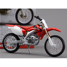 Honda CRF450R Metal Kit Diecast Motorbike Model Maisto Assembly Toys  1:12 Scale Model Motorcycle Free shipping