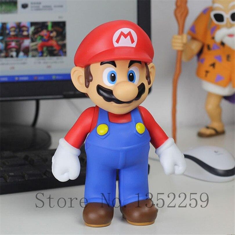 Super Mario Game toys Cosplay PVC Cartoon Action Figures Model PVC toys Birthday Gift 23cm<br><br>Aliexpress