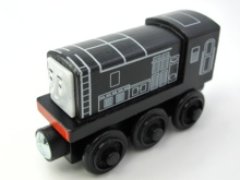 Wooden Thomas Train DIESEL T039W Thomas And Friends Trackmaster Magnetic Tomas Truck Car Locomotive Engine Railway Toys for Boys(China)