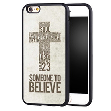 Jesus Christ Christianity Bible case cover For iPhone 7 7plus 6s 6plus 5 5c 5s se(China)