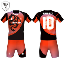 trade discount light weight home and away heat tight fit soccer jersey outlet for children(China)