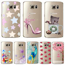 Soft TPU Cover For Samsung Galaxy A7 A7000 (A7 2015) Case Phone Shell Cases Balloon Flowers Artistic Eyes Cactus Best Choice