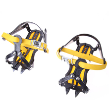 Ice Gripper HighAltitude Slip-resistant Strong Ice Crampons Ski Snow Crampons Shoes Snow Walker for Climbing Walking Hiking