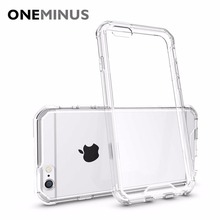 OneMinus Anti knock Clear Protective Case For iphone 6s plus Case Coque Shockproof Hard back cover For iphone6 6s Fundas(China)
