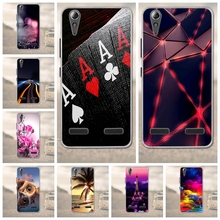 "For Lenovo A6010 Plus & A6000 & for Lenovo Lemon K3 K30-T Soft TPU Phone Case Cover Skin 5"" K 3 A6000 6010 Case for Lenovo A6010(China)"