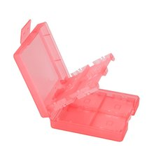 Hot Selling Pink 16-in-1 Game Card Case Holder Storage for Nintendo DS DSI LL/XL