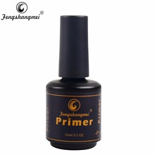 Fengshangmei 15ml Degreaser for nails Gel Varnishes Acrylic Nail UV Gel Acid Nail Primer(China)