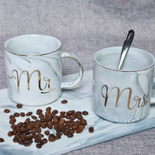 Lekoch Ceramic Mug Bone China Cup Handgrip Couple Cup Marble Patterns Phnom Penh Creative Breakfast Cup Milk Cup Christams Gift(China)