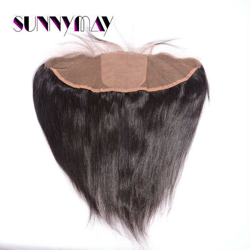 Aliexpress 7ABrazilian Straight Virgin Hair13*4Silk Base Lace Frontal Closure With Baby Hair Sunnymay Hair Brazilian Virgin Hair<br><br>Aliexpress