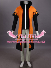High Quality Custom Made Uzumaki Cloak Set Cosplay Costume(6nd) from Naruto Shippuuden Anime Plus Size (S-6XL)