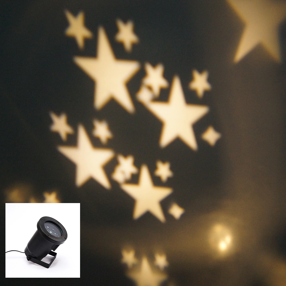 IP65 110V-240V US/EU/UK  waterproof  Stage Light, Elf Christmas lights, Xmas Star projection light with free shipping<br>