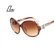 2016 Summer Style Oval Sunglasses Women Luxury Sun Glasses Female Vintage Brand Designer Eyeglasses Oculos De Sol