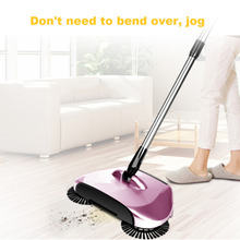 Magic Broom Sweeping Machine Hand Push Plastic Household Broom Set Sweeper Dustpan Vacuum Artifact Floor Home Cleaner Gift(China)