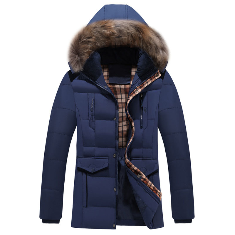 Mens cotton long coat in winter new thicker hooded young mens cotton suits Europe and the United States leisure cotton jacket Одежда и ак�е��уары<br><br><br>Aliexpress