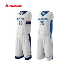 Original Kawasaki Brand Custom Kids Basketball Set Suits For Mens & Women Breathable Sports Practice Basketball Uniforms(China)