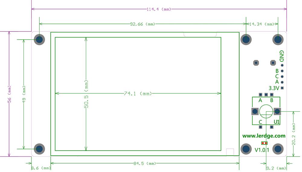 LerdgeX_LCD V1
