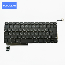 Original 98% New Laptop Keyboard For Macbook Pro A1286 Japan Layout MC721 MC723 Year 2011 2012