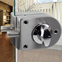 Stainless Steel Security Door Lock Safe Lock European Style Glass Door Handles Privacy Door Keyless Lock Knobs