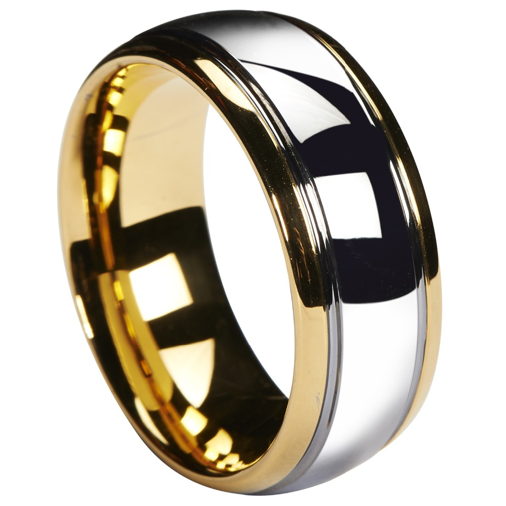 Men/'s Tungsten Ring Black Wedding Band Engagement Bridal Jewelry Matte Size 6-13