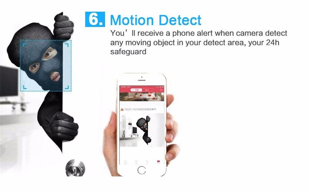 Wistino 720P Wireless IP Camera Motion Detection Home Baby Monitor IR Night Vision WiFi Camera Alarm Onvif Surveillance Security (13)